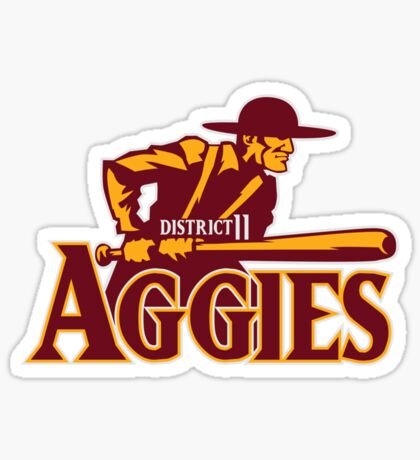 District 11 Aggies Sticker