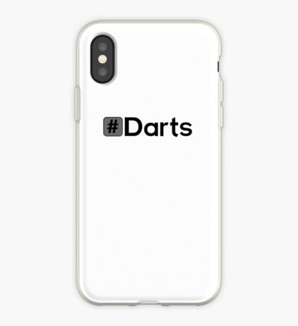 Hashtag Darts iPhone Case