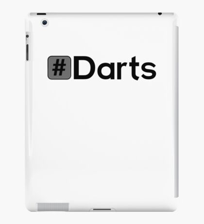 Hashtag Darts iPad Case/Skin