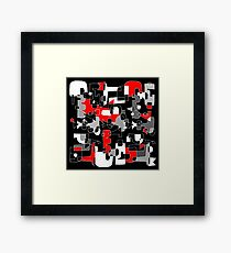UNSOLVED PUZZLE Framed Print