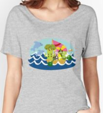 Veggie Ventures Boat Women's Relaxed Fit T-Shirt