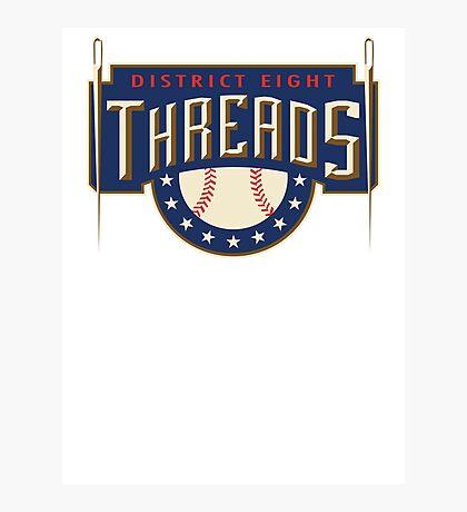 District 8 Threads Photographic Print
