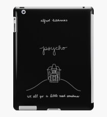 We All Go a Little Mad iPad Case/Skin