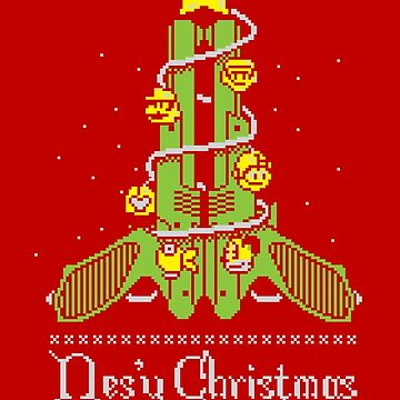 Nes'y Christmas - ugly christmas jumper by GordonBDesigns