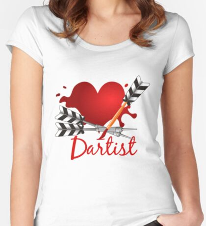 Dartist Women's Fitted Scoop T-Shirt
