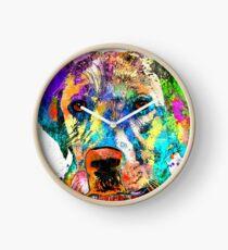 Reloj Labrador Retriever Grunge
