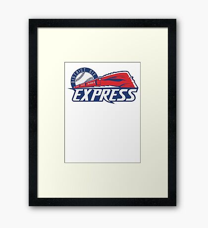 District 6 Express Framed Print