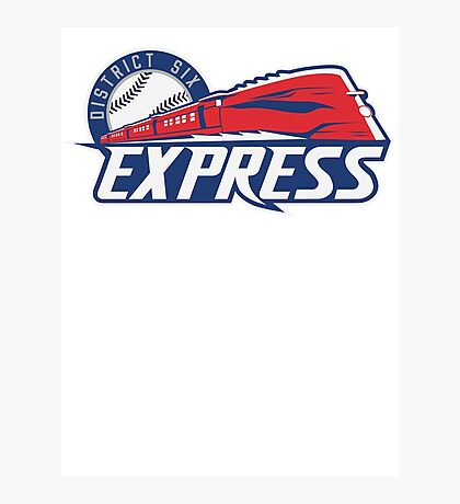 District 6 Express Photographic Print