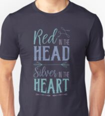 Red in the Head Unisex T-Shirt