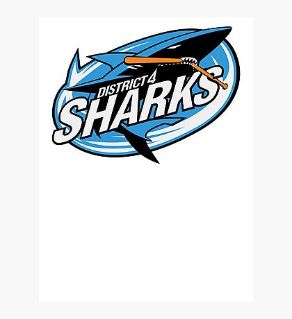 District 4 Sharks Photographic Print