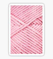 Pink Yarn Sticker