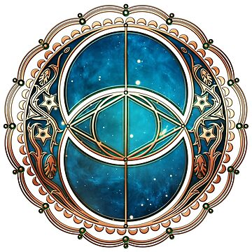Vesica Piscis, Chalice Well symbol, Avalon, celtic, magic by nitty-gritty