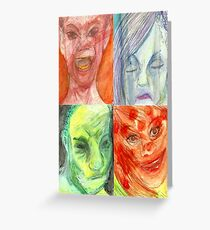 All the Emotions Greeting Card