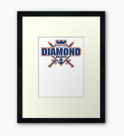 District 1 Diamond Knights Framed Print