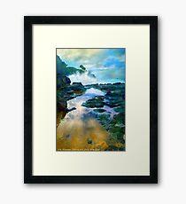 Secret Beach Waves 2015 Framed Print