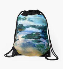 Secret Beach Waves 2015 Drawstring Bag