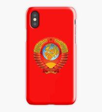 State Emblem of the Soviet Union iPhone Case