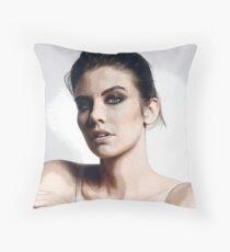 Lauren Cohan  Throw Pillow