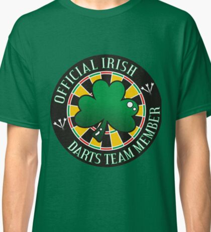 Official Irish Darts Team Member Classic T-Shirt