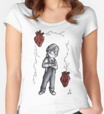 Bleeding Heart Fitted Scoop T-Shirt