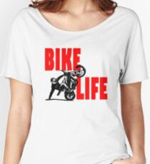 Bike Life  Women's Relaxed Fit T-Shirt