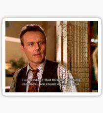 Giles - Buffy the Vampire Slayer Sticker