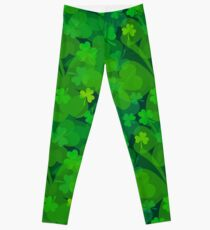 Lucky Shamrock - Clovers all Over Leggings