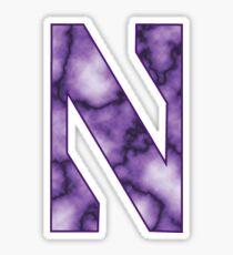 Northwestern Marble Sticker