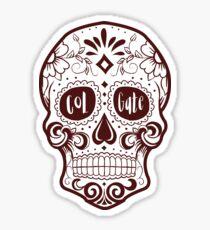 Colgate Sugar Skull Sticker