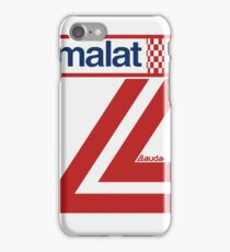 Niki Lauda White Helmet iPhone Case/Skin