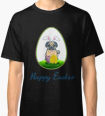 Happy Easter Pug Lover Classic T-Shirt