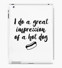 Mrs Doubtfire - Ich mache einen tollen Eindruck von einem Hot Dog iPad-Hülle & Klebefolie