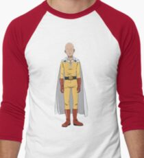 Caped Baldy Men's Baseball ¾ T-Shirt