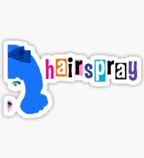 Hairspray logo Sticker