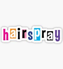 Hairspray logo II Sticker