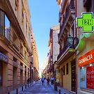 Streets of Madrid by Tom Gomez