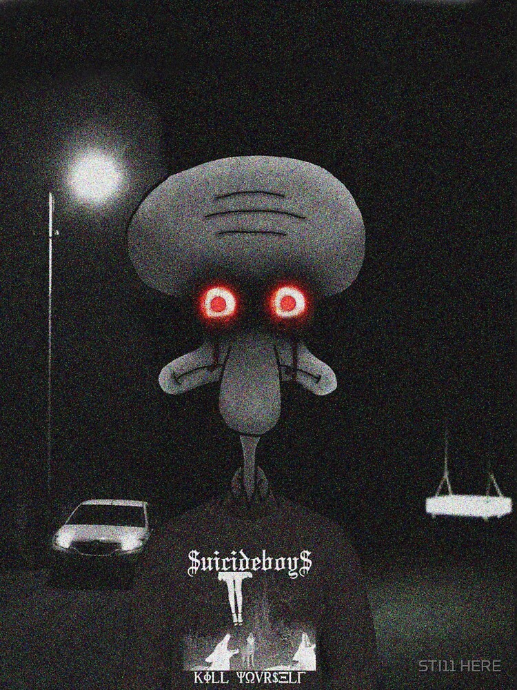 Squidward Suicide by Sti11Here