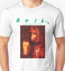Rush New World Tour 1982 Unisex T-Shirt