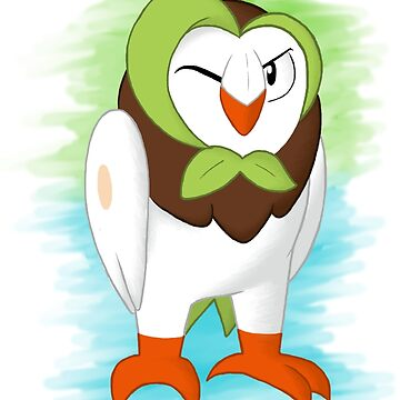 Pokemon - #723 ( Dartrix ) by TheWinterColt