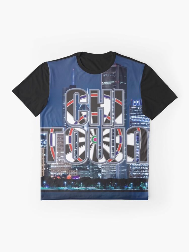 Alternate view of Darts Chicago Graphic T-Shirt