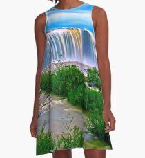 Waterfall A-Line Dress