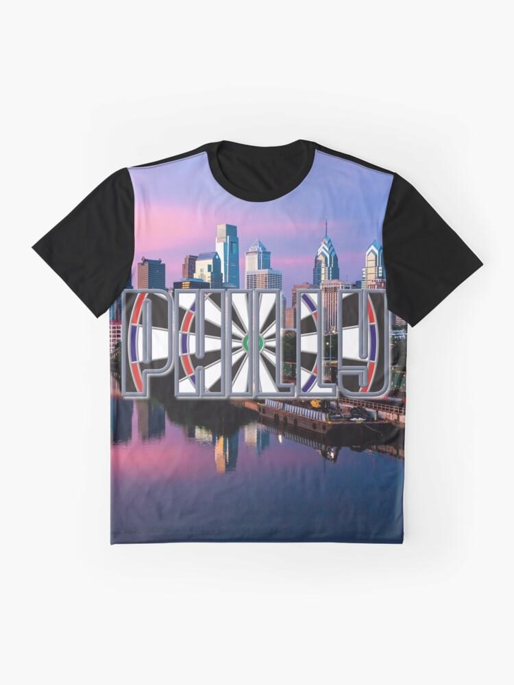 Alternate view of Darts Philadelphia Graphic T-Shirt