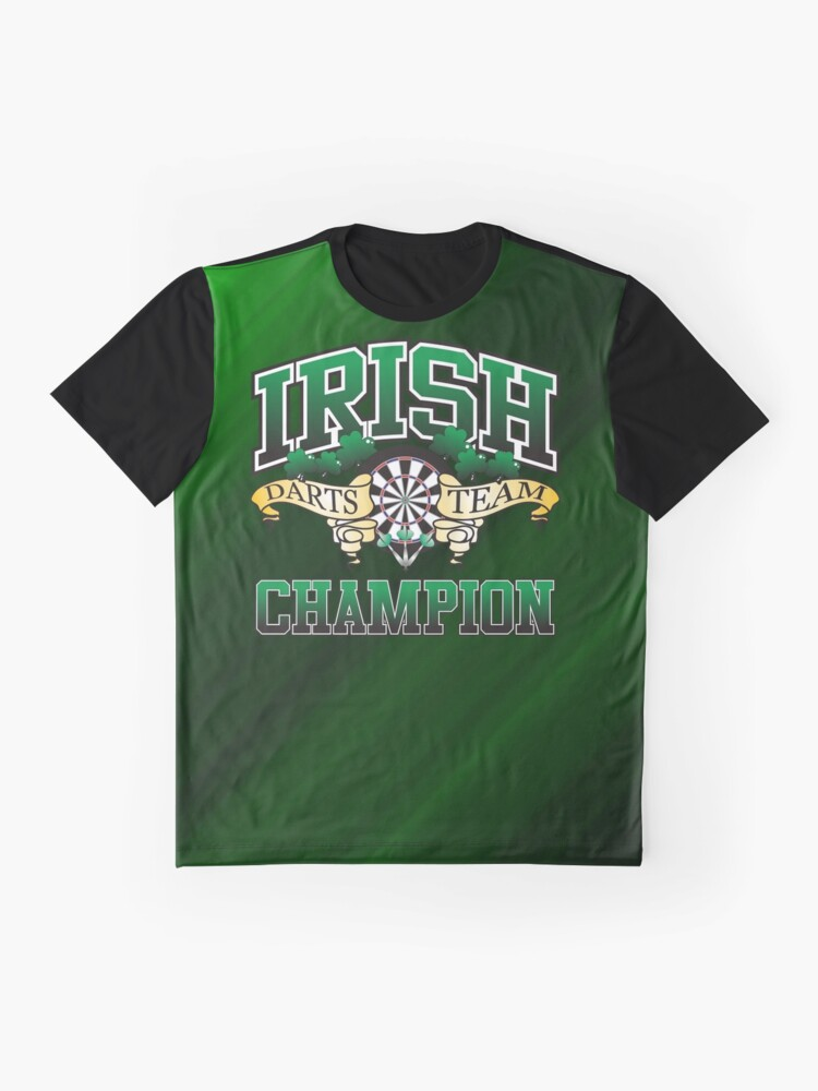 Alternate view of Irish Darts Champion Graphic T-Shirt