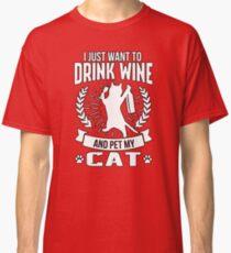 Pet My Cat Classic T-Shirt