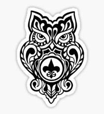 Louisiana Owl Sticker