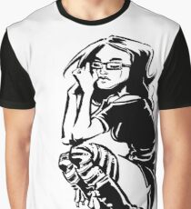 Lady Crow Graphic T-Shirt