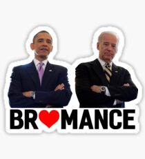 Obama -& Biden - Bromance Sticker