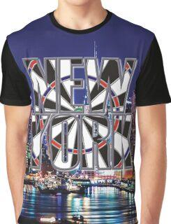 Darts New York Graphic T-Shirt