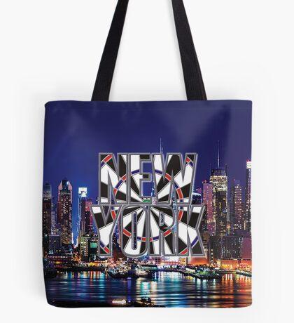 Darts New York Tote Bag