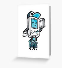 Gameboy Greeting Card